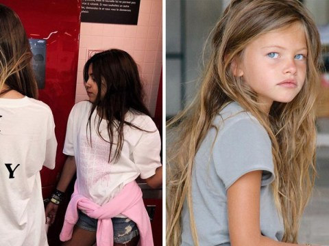 French model Thylane Blondeau, once called the 'most beautiful girl in the world', is launching her own clothing line