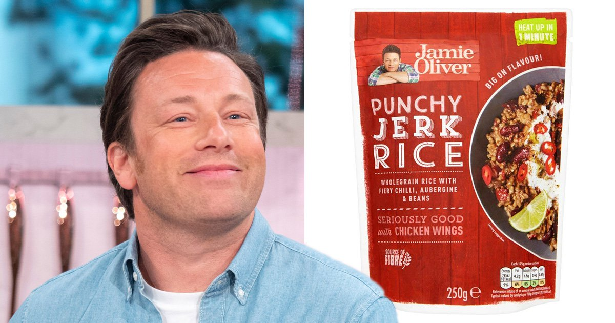 Jamie Oliver says his controversial 'jerk rice' is so popular he needs to make more