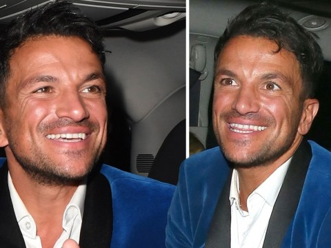 Peter Andre has never looked happier as he forgets Katie Price drama on date night with Emily MacDonagh