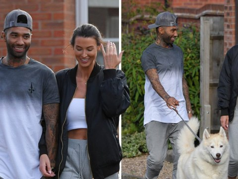 Jermaine Pennant reunites with wife Alice Goodwin after being spotted returning to hotel with Chloe Ayling