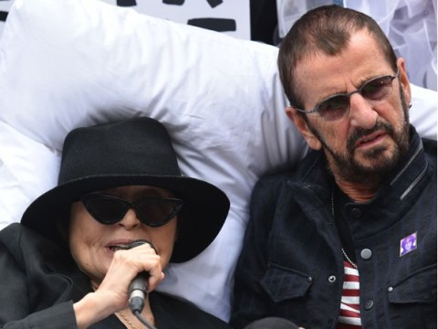 'I finally get to go to bed with Yoko Ono': Ringo Starr recreates bed-in with John Lennon's widow