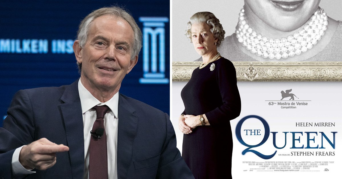 Tony Blair accused of stealing lines from The Queen for autobiography