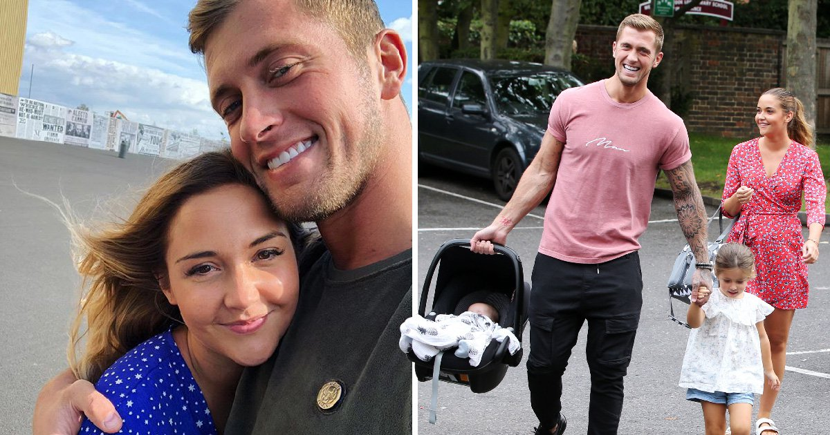 Dan Osborne 'confirms' he's back with wife Jacqueline Jossa following CBB stint