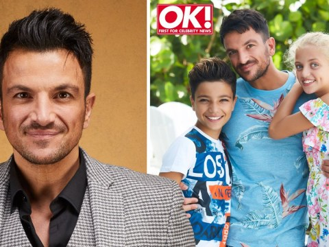 Peter Andre explains how he 'diverts' conversations about ex Katie Price from their two children