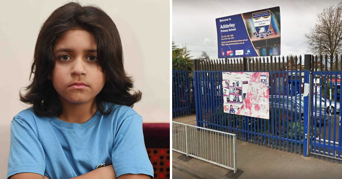 Dad claims school 'humiliated son' by ordering him to get his hair cut during assembly