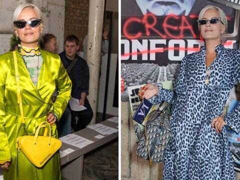 Lily Allen seen at London Fashion Week for the first time after speaking out on Liam Gallagher sex romp