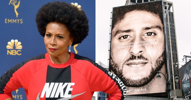 86647048b6d0d Blackish's Jenifer Lewis wears Nike in solidarity with Colin Kaepernick  following backlash on new ads
