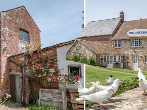 This 1,000-year-old water mill is on the market for £2.3 million, and could literally make you dough