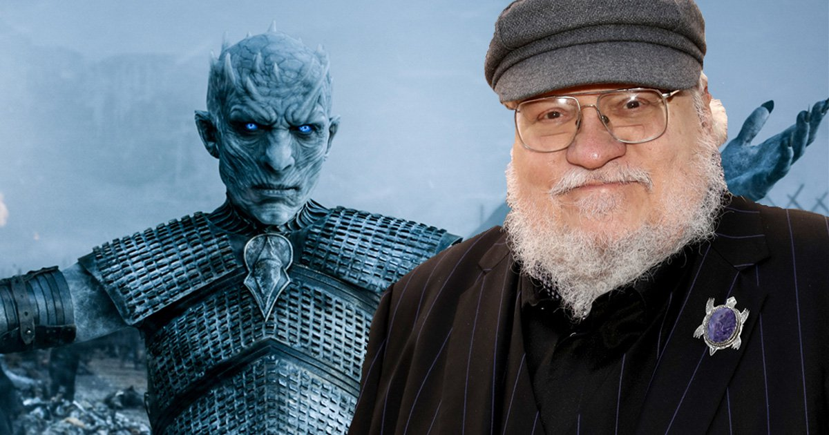 George RR Martin wore the most amazing Game of Thrones Easter egg to the Emmys last night (Picture: Invision)