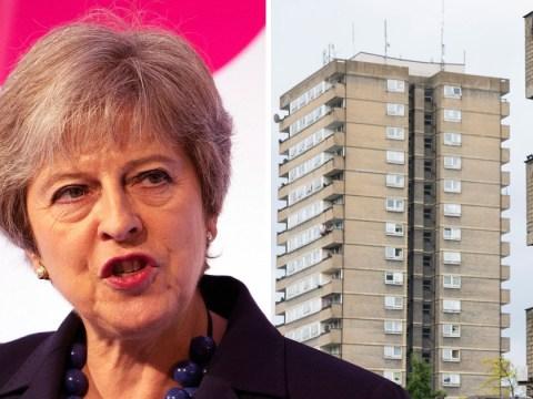 Theresa May pledges £2,000,000,000 to build social housing