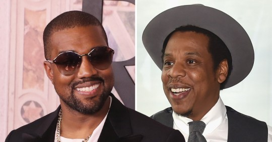 cfd5ce634 Kanye West and Jay Z s beef is over as Beyonce wears Yeezys