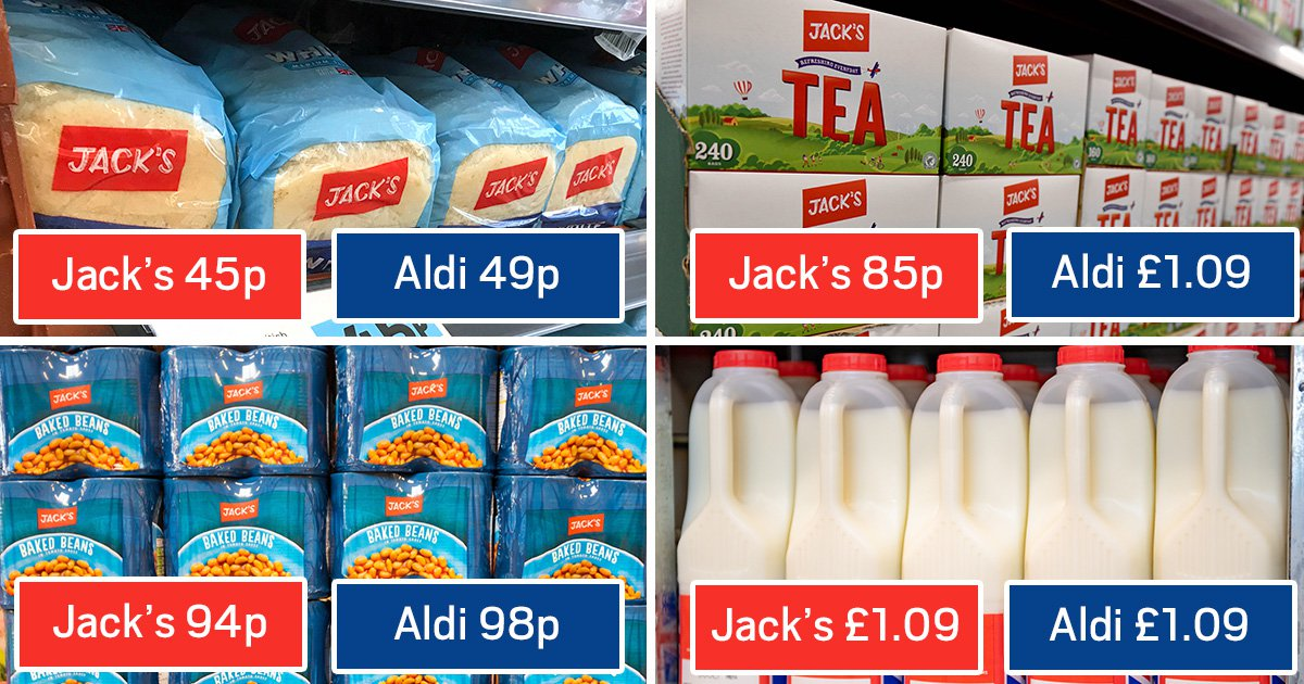 How new supermarket Jack's deals compare to Aldi and Lidl
