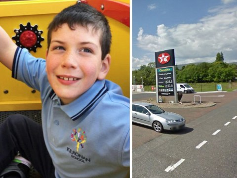Tributes to boy, 8, who died after being hit by car at petrol station