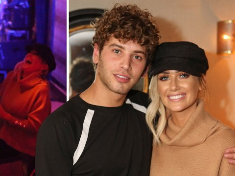 'They were closed up talking to each other': Love Island's Laura Anderson and Eyal Booker spark romance rumours on night out