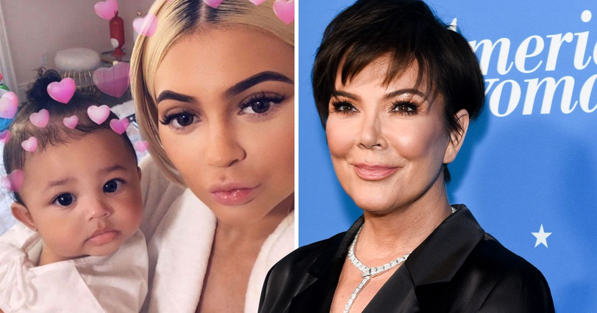 Kris Jenner was 'anxious' over keeping Kylie's pregnancy a secret as Stormi makes KUWTK debut