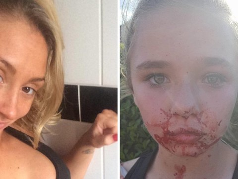 Boxer who beat up schoolgirl, 11, says she was just defending her daughter