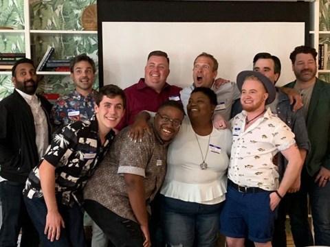Queer Eye fans in meltdown as stars reunite at Mama Tammye's community church