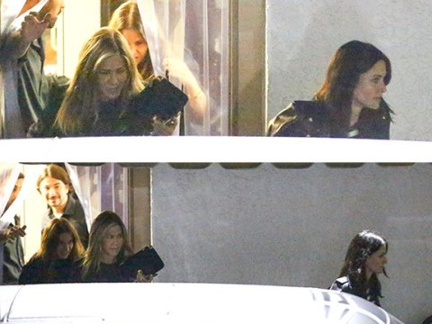 Jennifer Aniston and Courteney Cox spotted on girl's night as Friends celebrates its 24th anniversary