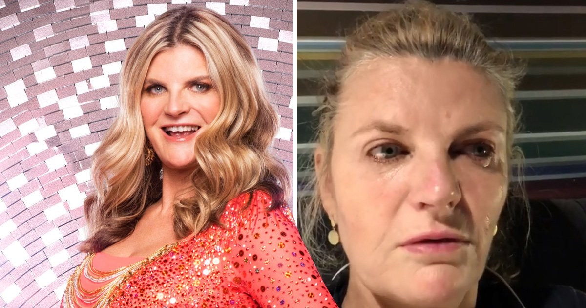 Strictly's Susannah Constantine breaks down in tears over missing family milestone