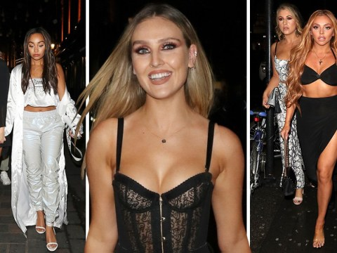 Perrie Edwards, Jesy Nelson and Leigh-Anne Pinnock reunite at wild night out for Little Mix dancer's birthday
