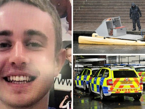 Man, 20, arrested on suspicion of murder as hunt for missing student continues