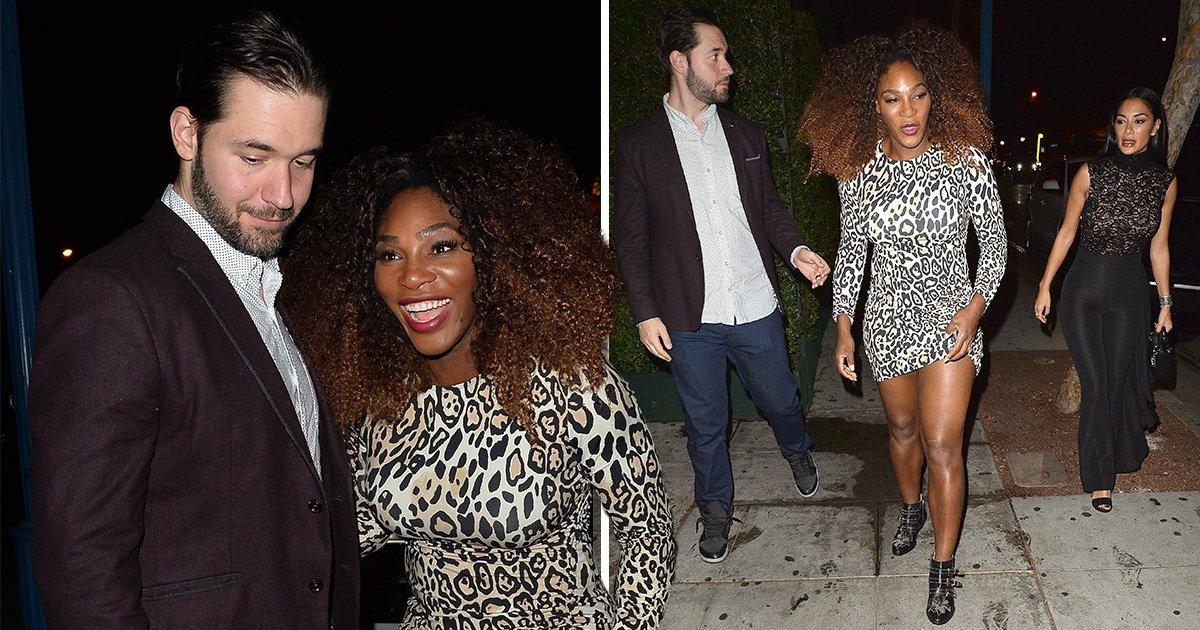 Nicole Scherzinger couples up with Serena Williams and her husband Alexis Ohanian for date night