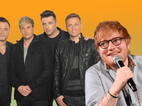 It looks like Ed Sheeran may have penned Westlife's comeback song