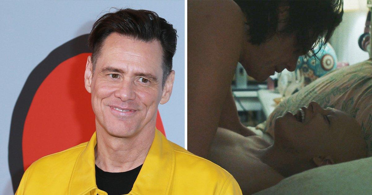 Jim Carrey gay sex