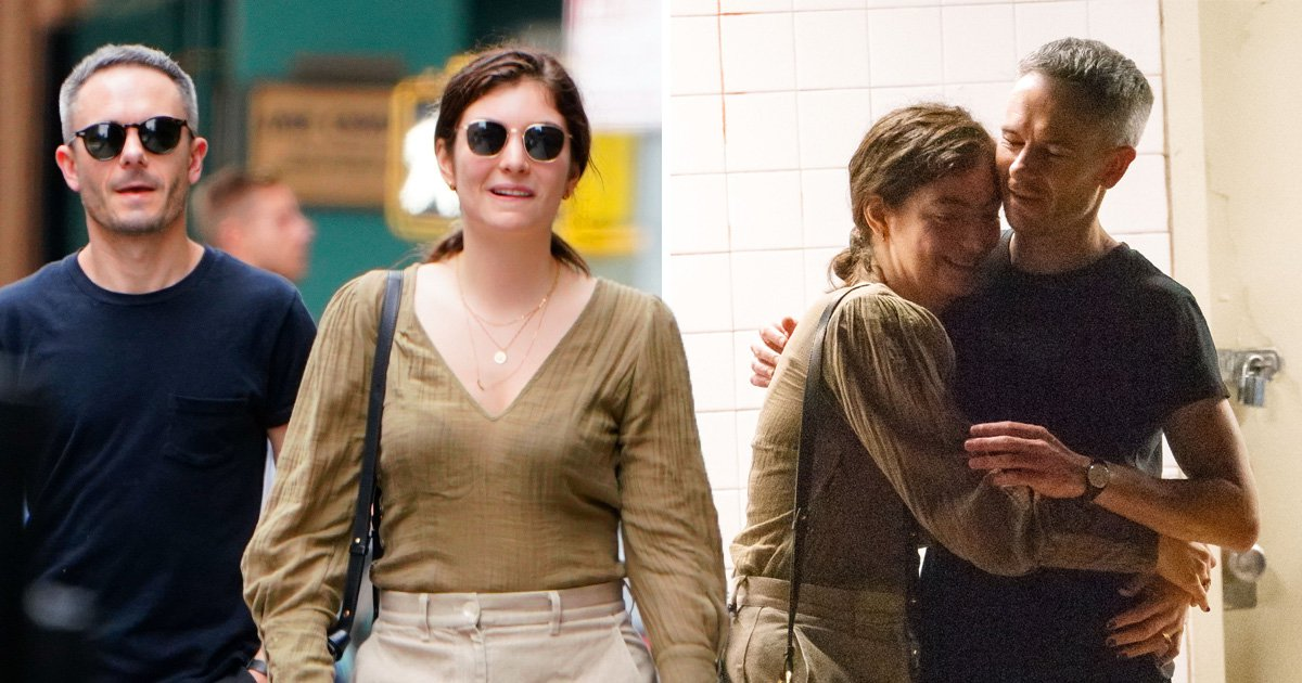 Lorde looks smitten as she cosies up to 'boyfriend' Justin Warren on rare day out