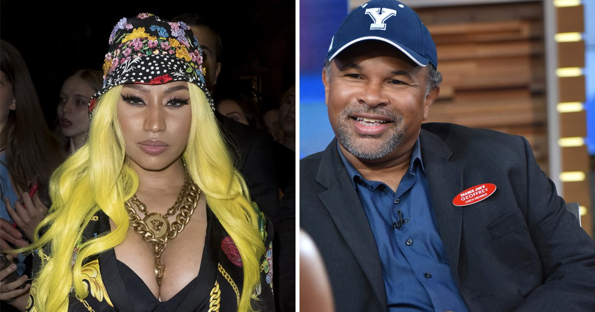 Nicki Minaj coughs up promised £19k to Cosby Show actor Geoffrey Owens
