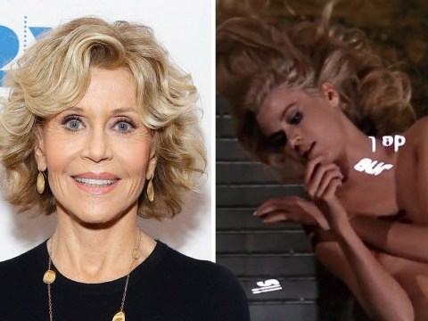 Jane Fonda was 'drunk on vodka' filming nude Barbarella scene because she was 'terrified'