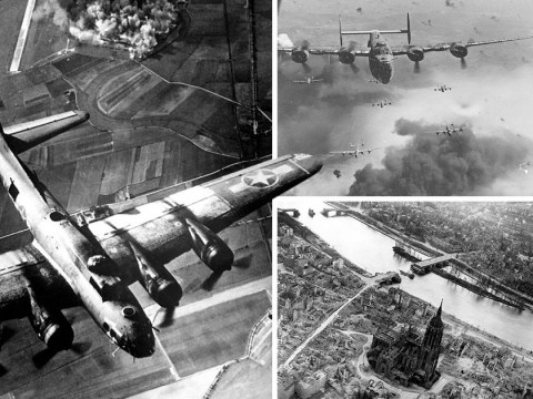 World War II bombs caused shock waves which reached the edge of space