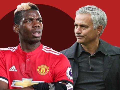 Body language expert analyses Jose Mourinho and Paul Pogba's frosty exchange in training