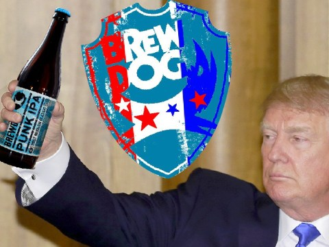 Brewdog bars 'offer of free beer to Trump supporters' backtracked quickly