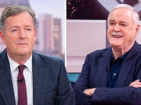 Piers Morgan brands John Cleese a 'gutless weasel'