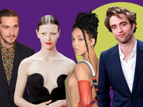 Robert Pattinson poses with Mia Goth at High Life premiere as exes FKA Twigs and Shia LaBeouf start dating