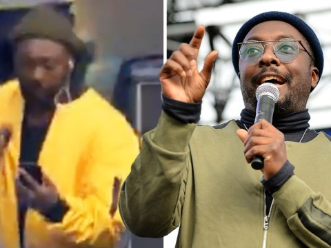 Will.i.am hits back at fans blasting him for checking his phone during Black Eyed Peas performance