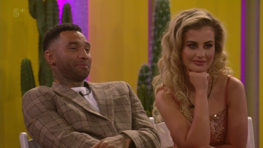 Ryan Thomas is given the position of vice president after the public vote during the launch of 'Celebrity Big Brother: Eye of the Storm'. Broadcast on Channel 5 Featuring: Chloe Ayling, Jermaine Pennant When: 16 Aug 2018 Credit: Supplied by WENN **WENN does not claim any ownership including but not limited to Copyright, License in attached material. Fees charged by WENN are for WENN's services only, do not, nor are they intended to, convey to the user any ownership of Copyright, License in material. By publishing this material you expressly agree to indemnify, to hold WENN, its directors, shareholders, employees harmless from any loss, claims, damages, demands, expenses (including legal fees), any causes of action, allegation against WENN arising out of, connected in any way with publication of the material.**