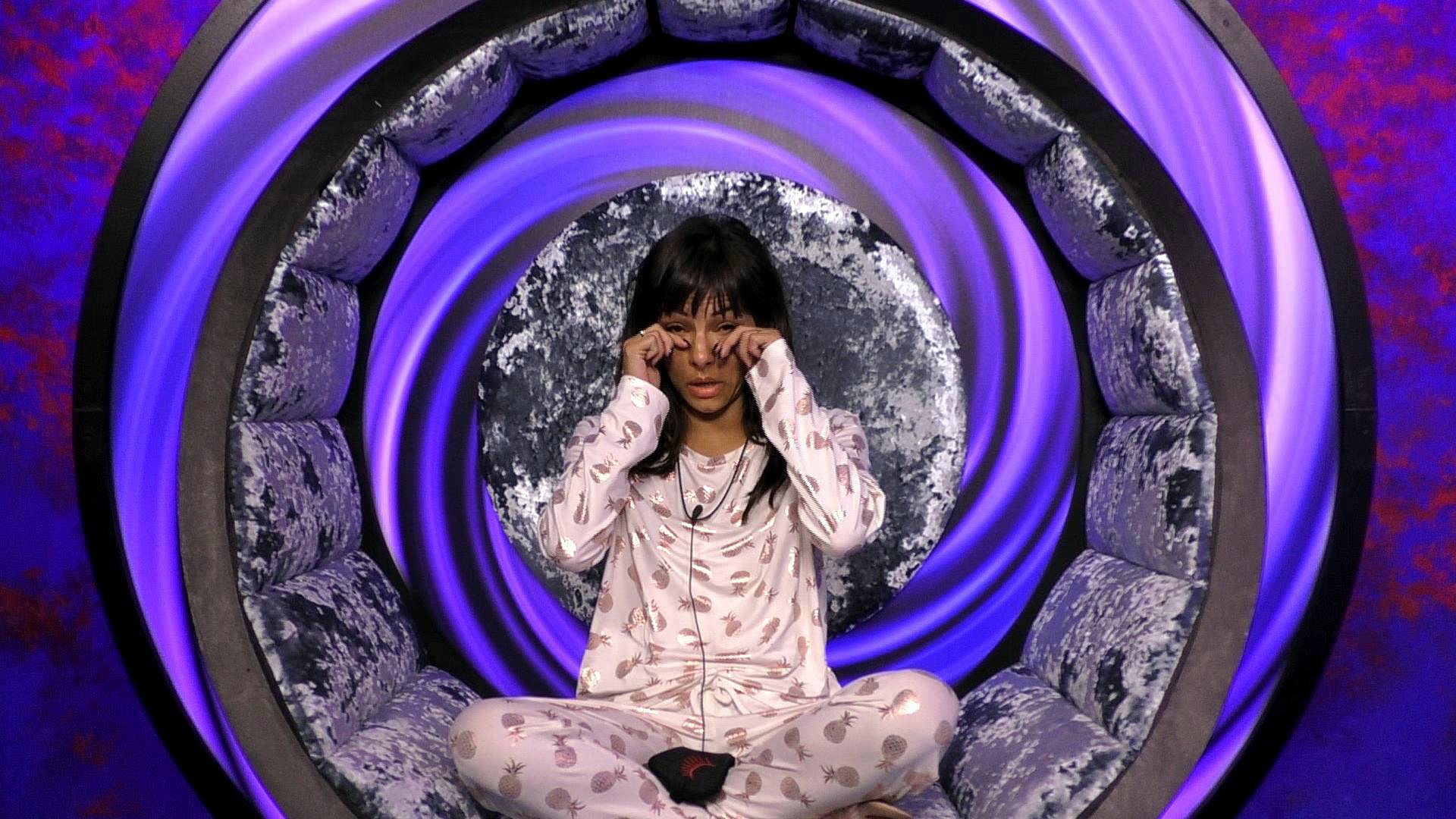 CBB's Roxanne Pallett leaves the house in tears after housemates turn on her for Ryan Thomas accusations: 'You need to tell the truth'