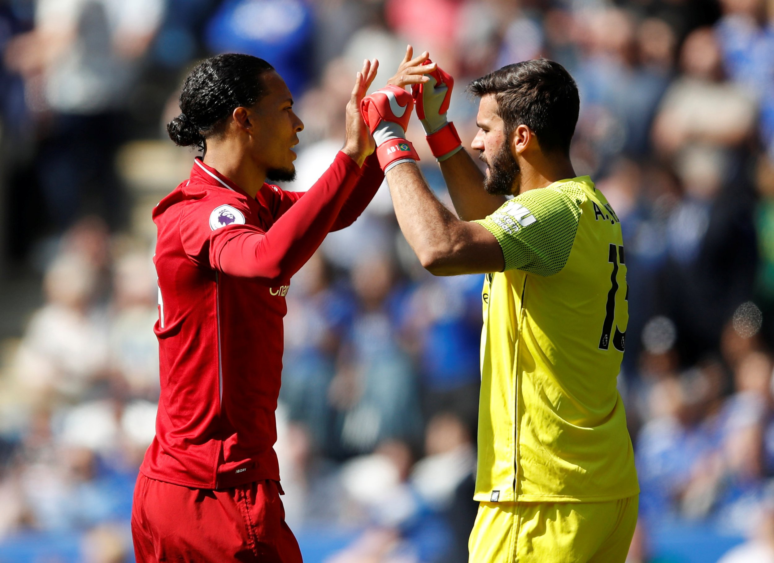 Jurgen Klopp reacts to Alisson error by warning Liverpool defenders