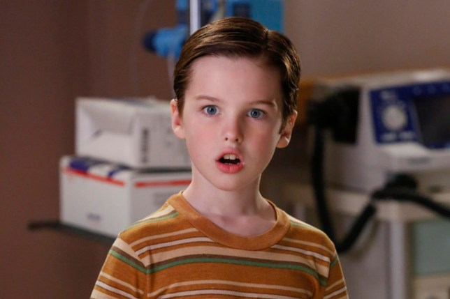 """Poker, Faith, and Eggs""-- Pictured: Sheldon (Iain Armitage). When George Sr. is rushed to the emergency room, Meemaw (Annie Potts) comes to babysit, and the kids have an adventure getting to the hospital on their own, when YOUNG SHELDON airs, Thursday Nov. 9 (8:31-9:01 PM, ET/PT) on the CBS Television Network. Photo: Robert Voets/Warner Bros. Entertainment Inc. ???????? 2017 WBEI. All rights reserved."