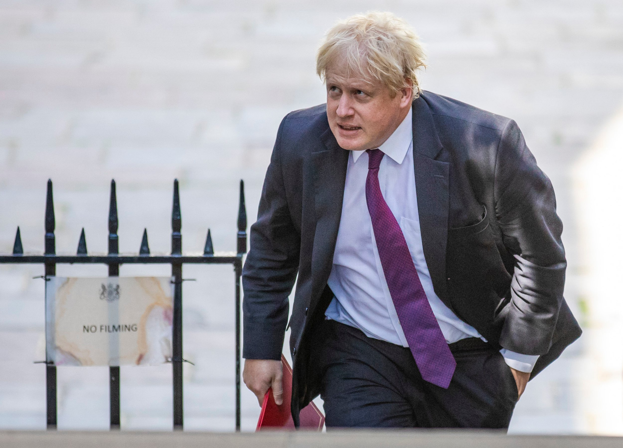 Boris the Brexiteer continues his own Project Fear against Theresa May