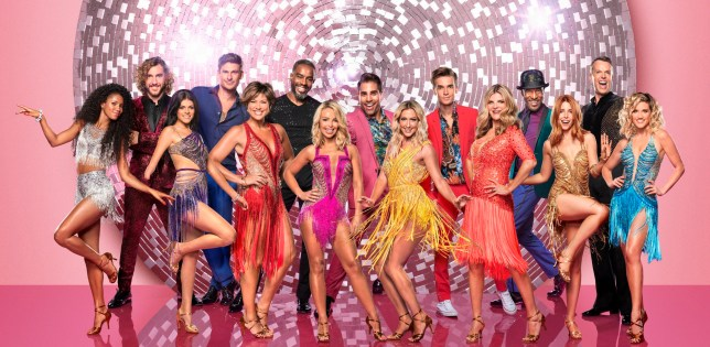 EMBARGOED TO 0001 TUESDAY SEPTEMBER 4 For use in UK, Ireland or Benelux countries only Undated BBC handout photo of composite photo of this year's contestants for Strictly Come Dancing(left to right back row) Seann Walsh, Lee Ryan, Charles Venn, Dr Ranj Singh, Joe Sugg, Danny John-Jules, Graeme Swann, (left to right front row) Vick Hope, Lauren Steadman, Kate Silverton, Katie Piper, Faye Tozer, Susannah Constantine, Stacey Dooley, Ashley Roberts. PRESS ASSOCIATION Photo. Issue date: Tuesday September 4, 2018. Photo credit should read: Ray Burmiston/BBC/PA Wire NOTE TO EDITORS: Not for use more than 21 days after issue. You may use this picture without charge only for the purpose of publicising or reporting on current BBC programming, personnel or other BBC output or activity within 21 days of issue. Any use after that time MUST be cleared through BBC Picture Publicity. Please credit the image to the BBC and any named photographer or independent programme maker, as described in the caption.