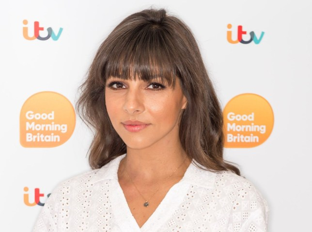 EDITORIAL USE ONLY. NO MERCHANDISING Mandatory Credit: Photo by Ken McKay/ITV/REX/Shutterstock (9768008br) Roxanne Pallett 'Good Morning Britain' TV show, London, UK - 23 Jul 2018