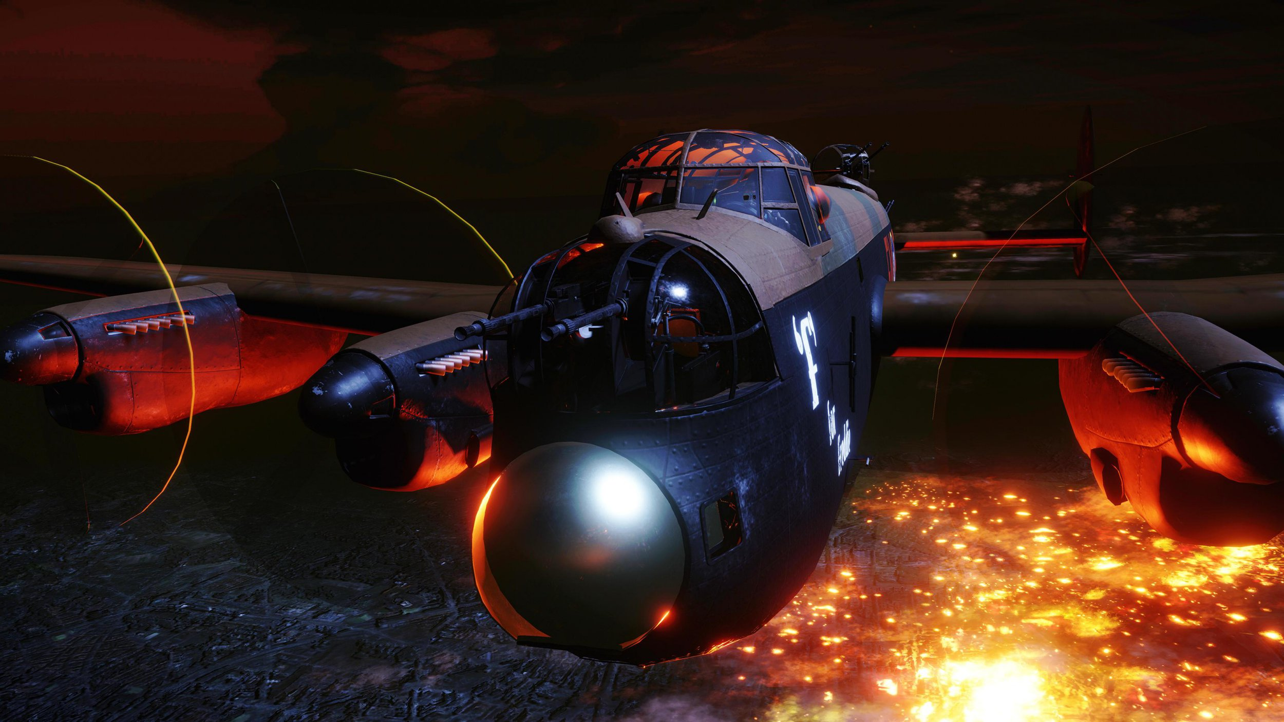 Horrors of WW2 bombing mission revealed as VR experience puts you in the cockpit of a Lancaster over Berlin