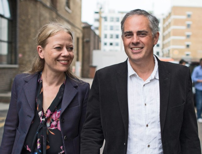 Newly appointed joint Green Party leaders, Sian Berry and Jonathan Bartley outside their party's headquarters in south east London following the Green Party leadership election result. PRESS ASSOCIATION Photo. Picture date: Tuesday September 4, 2018. See PA story POLITICS Green. Photo credit should read: Stefan Rousseau/PA Wire