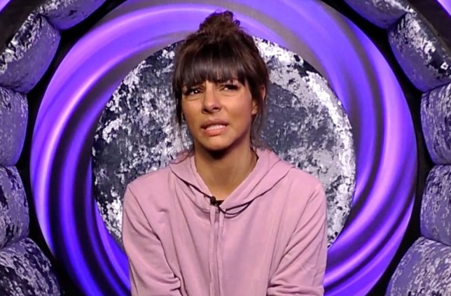 Editorial Use Only Mandatory Credit: Photo by REX (9826810bb) Roxanne Pallett cries in the diary room 'Celebrity Big Brother' TV show, Series 22, Elstree Studios, Hertfordshire, UK - 30 Aug 2018