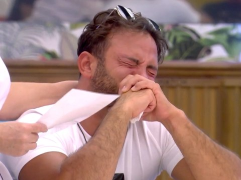 Celebrity Big Brother viewers in bits as Ryan Thomas sobs at letter from home telling him everything is OK