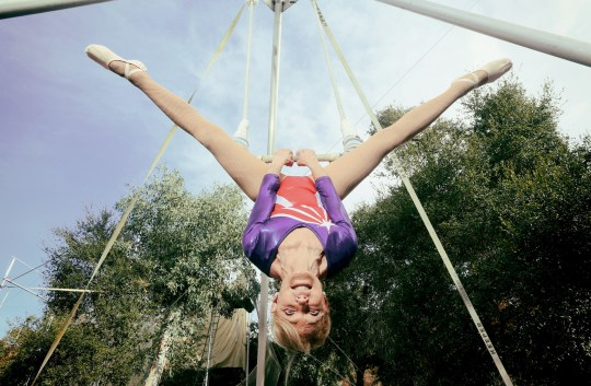 EMBARGOED TO 0001 THURSDAY SEPTEMBER 6 Guinness World Records handout photo of Betty Goedhart who holds the record for being the Oldest Trapeze Artist as she appears in the latest edition of Guinness World Records. PRESS ASSOCIATION Photo. Issue date: Thursday September 6, 2018. Photo credit should read: Sandy Huffaker/Guinness World Records/PA Wire NOTE TO EDITORS: This handout photo may only be used in for editorial reporting purposes for the contemporaneous illustration of events, things or the people in the image or facts mentioned in the caption. Reuse of the picture may require further permission from the copyright holder.