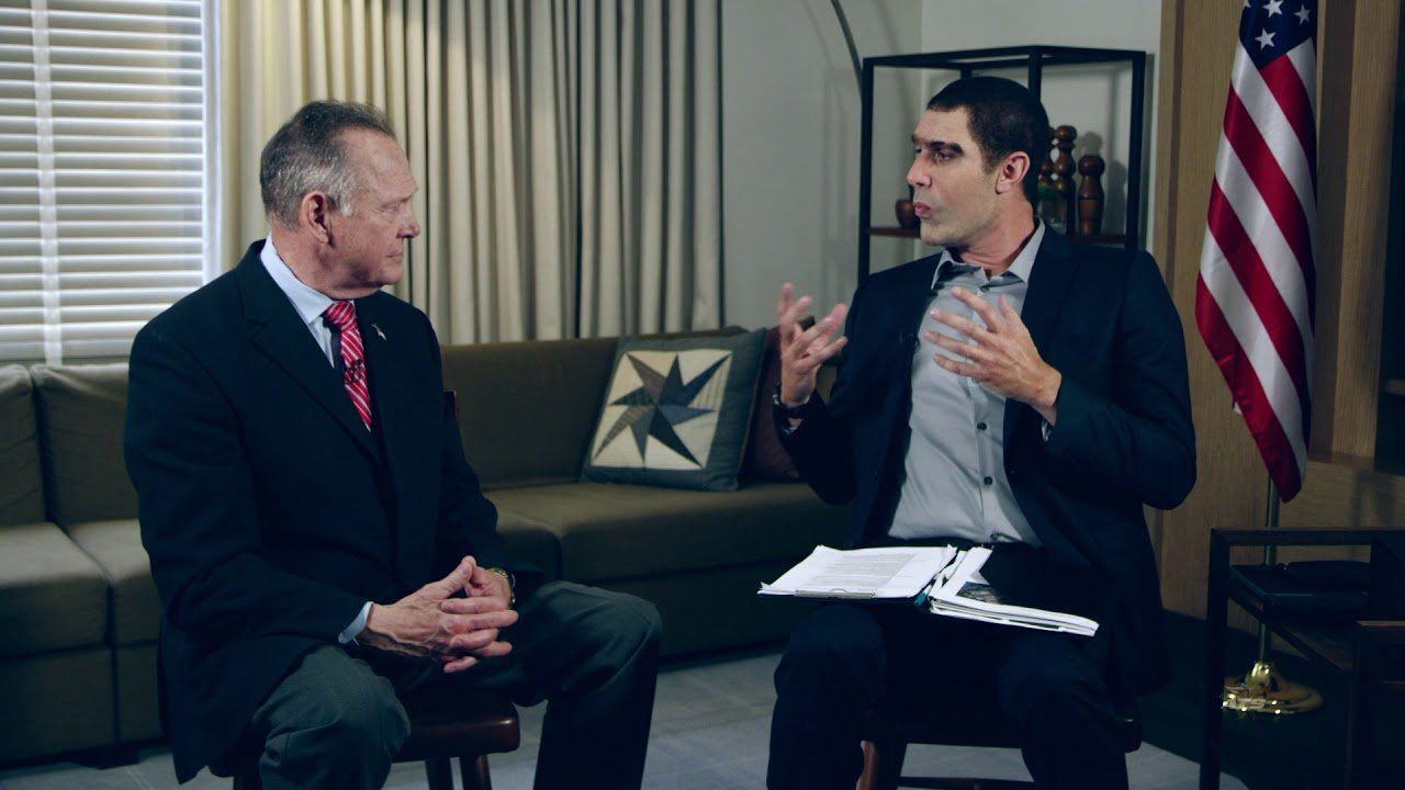Watch the Roy Moore prank on 'Who Is America?' that Sacha Baron Cohen is being sued over